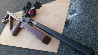 Repeat youtube video Homemade airgun 自制气枪