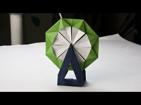 How To Make A Paper Ferris wheel