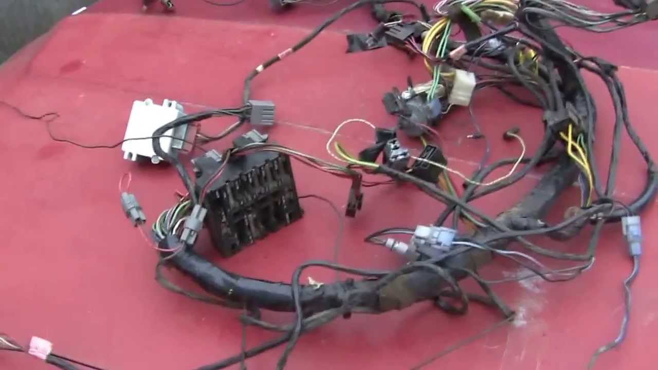 maxresdefault 1972 gran torino gts wiring harness youtube  at edmiracle.co