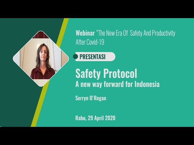 Safety protocol a new way forward for Indonesia_Serryn O'Regan