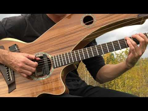 Have You Ever Seen The Rain? - (CCR) - Harp Guitar Cover - Jamie Dupuis