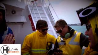 Superyacht Crew Helicopter Training