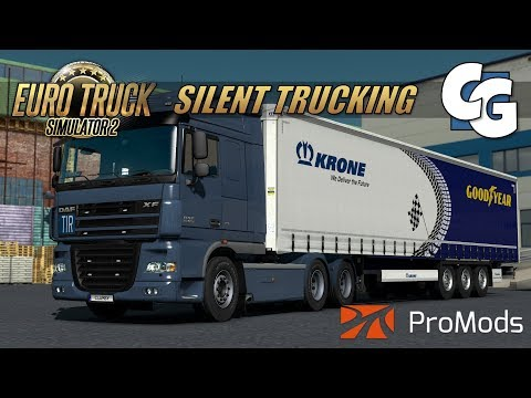 Silent Trucking - Düsseldorf to Kassel - ETS2 ProMods No Commentary Gameplay