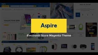 Aspire - Electronic Store Responsive Magento Theme