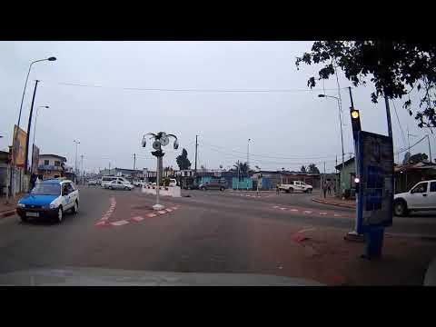 Gabon, Port Gentil, Hotel to PG2