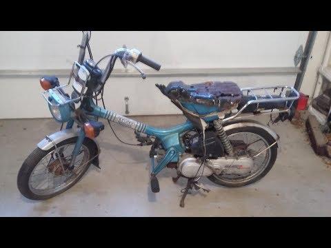 1982 Honda Express II Moped NC50 - 2 Speed Engine