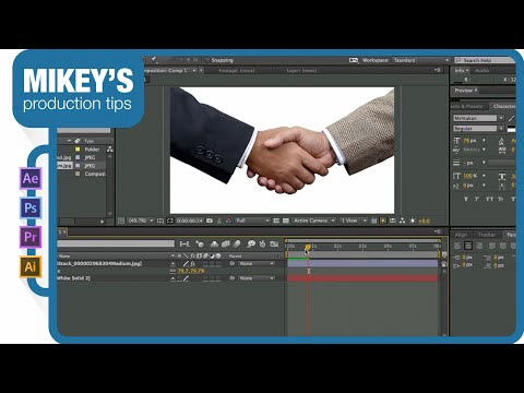 Animated Still Photos: 4 ways to do it in After Effects