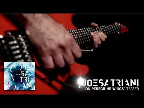 """Joe Satriani - """"On Peregrine Wings"""" Teaser from new album Shockwave Supernova"""
