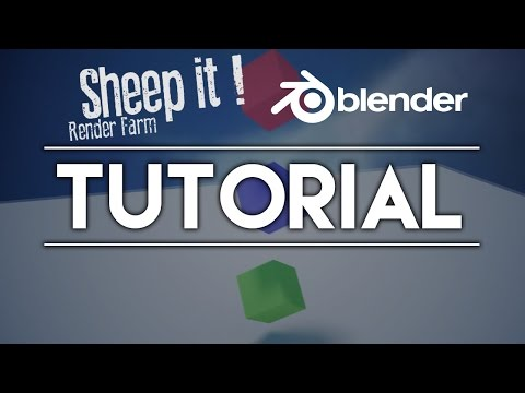 Sheep It: The FREE Render Farm!