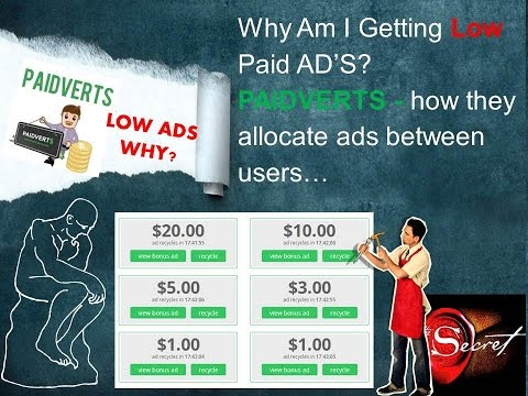 Why am I getting low Paid ads |  Paidverts Know it better