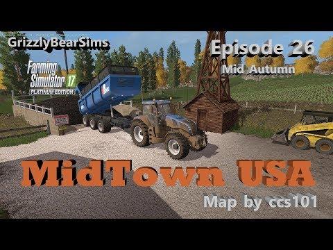Farming Simulator 17 ᴴᴰ  MidTown USA by ccs101 🚜  Episode 26