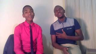 cover of thina zungu ft dumi kokstad :fear not by junior male voice