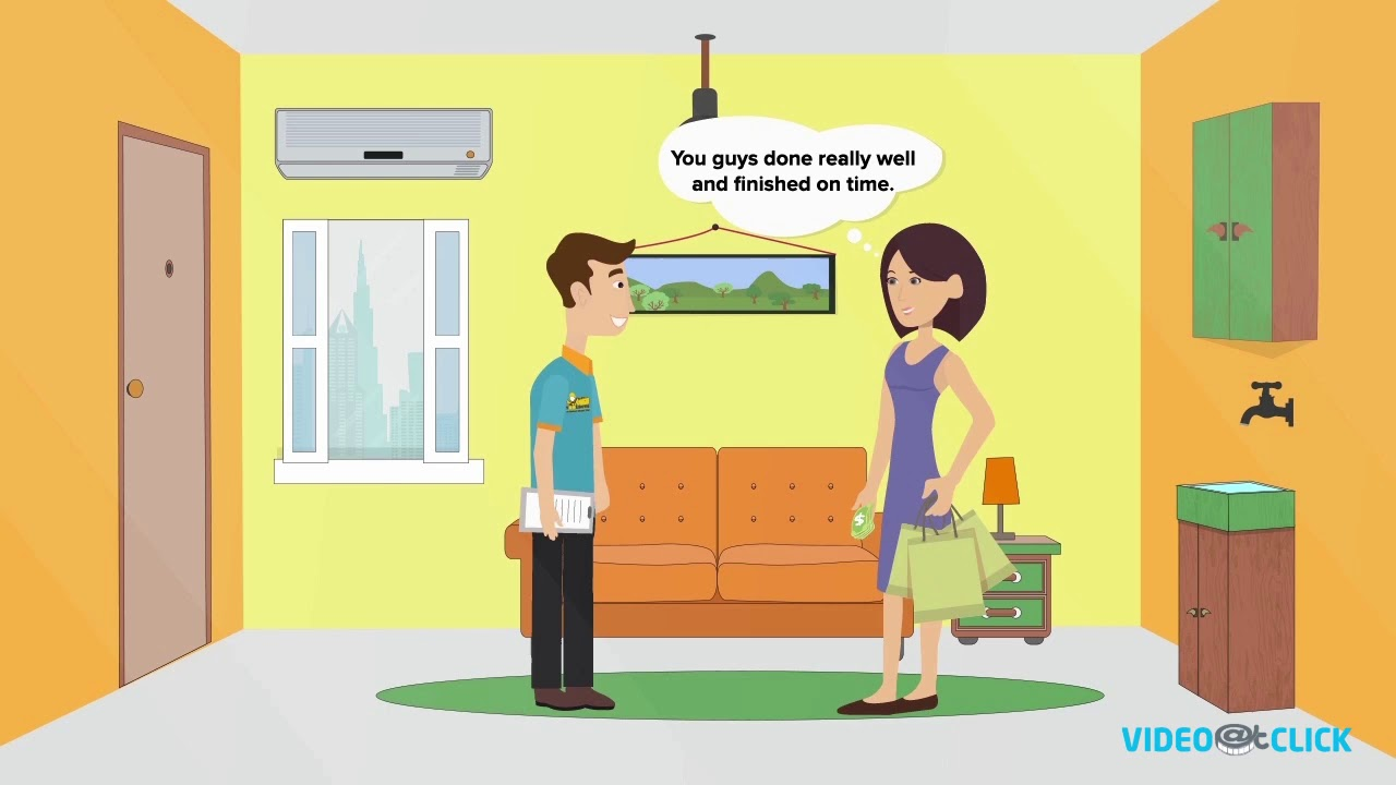 Home improvement and repair services funny animated for Wallpaper home improvement questions