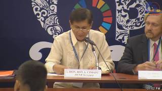 CMS COP12 - 23/10/2017 Opening Press Conference, Manila Philippines thumbnail