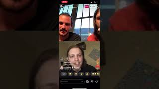 Rainbow Kitten Surprise's Ethan Goodpaster - Mt Joy IG Live Stream