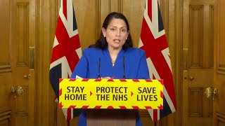 video: Priti Patel insists 'rules are clear' as she confirms 45,000 fines have been issued