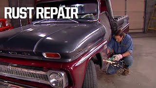 Replacing The Rusted Out Rocker Panels On A '66 Chevy - Trucks! S1, E1