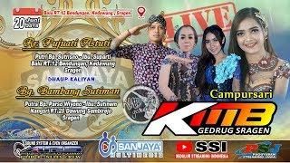 Live KMB MUSIC //SANJAYA MULTIMEDIA //ARS SOUND JILID 4//Balu Bendungan Kedawung 20 Juni 2019
