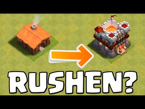 RATHAUS RUSHEN?! || CLASH OF CLANS || Let's Play CoC [Deutsch/German Android iOS]