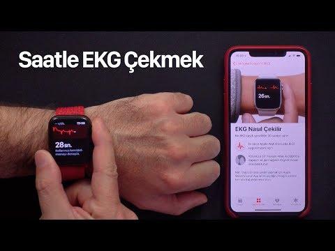 Apple Watch ile EKG Çekmek