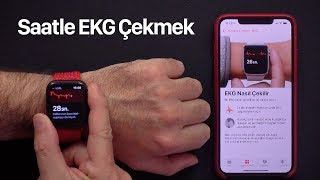 Apple Watch ile EKG Çekmek