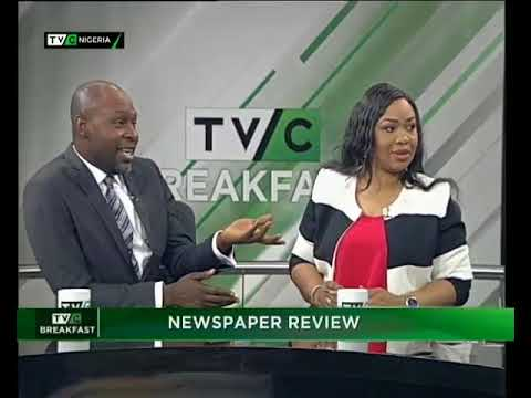 TVC Breakfast Dec. 7th | Newspaper review with Dan Ekere