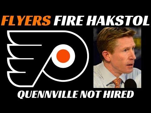 Philadelphia Flyers Fire Dave Hakstol