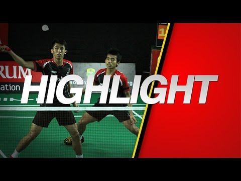 Pramudya K./Rizal M. Sofyan (Djarum Kudus) VS Daniel Marthin/Leo Rollycarnando (Djarum Kudus)
