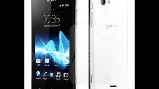Sony Xperia J ST26i hard reset by update software
