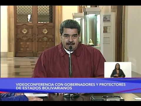 Presidente Nicolás Maduro decreta Estado de Alarma constitucional, cadena completa el 13/03/2020