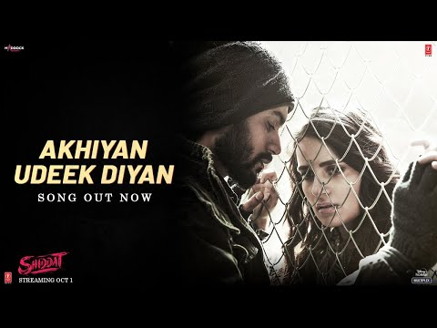 Akhiyan Udeek Diyan (Video) Shiddat | Sunny K, Radhika M, Mohit R,Diana P |Manan B | Master Saleem