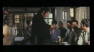 Katsu Shintaro in Gosha's masterpiece. Okada Izo (Katsu) a low rank...