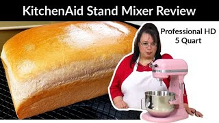KitchenAid Stand Mixer Professional HD Review | 5 Quart Bowl Lift | Amy Learns to Cook