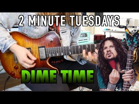 Dime Time !! 2 Minute Tuesdays #1 ( With Tabs)