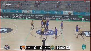 U16M - Por 3/4 puesto VALENCIA BASKET vs CAJASIETE. Cpto.España Cadete FEB-San Fernando (Cádiz) 2021