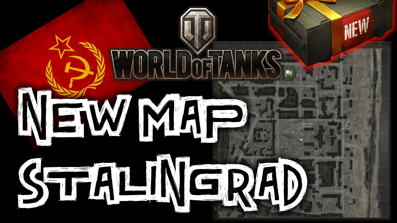 World of Tanks || Stalingrad - Map Preview - YouTube