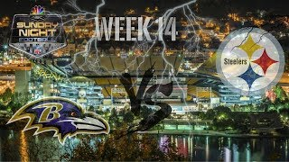Its Game Day!!! || Pittsburgh Steelers Vs Baltimore Ravens || Week 14 Pump Up **HD Quality**