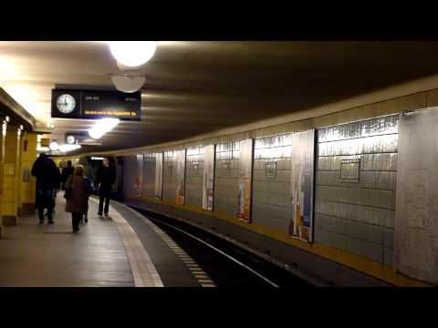U-Bahn Berlin Bahnhof Hermannplatz U8 [HD]