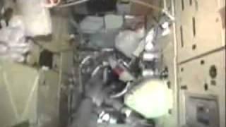 Soviet-Russian Mir Space Station Interior