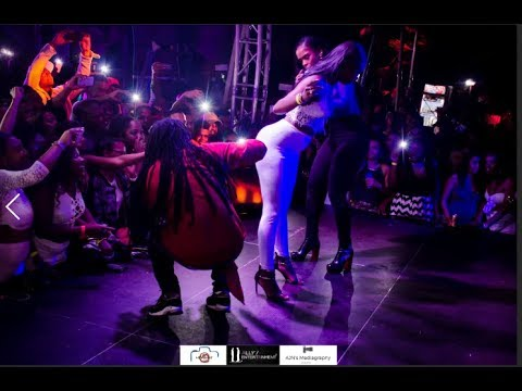 JAHYANAI KING FT BAMBY AT PALLADIUM - Mauritius OCT 2017 by Ally's Entertainment