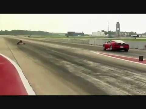 Ferrari Challenge Vs Go Kart CRG...!!!!!!!!