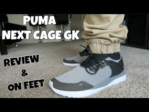 d610f519cb536e PUMA NEXT CAGE GK REVIEW AND ON FEET! - YouTube