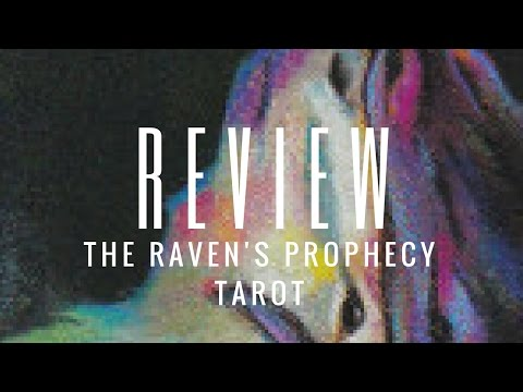 Review: The Raven's Prophecy Tarot (By Maggie Stiefvater) (Llewellyn)