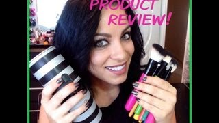 product review pop art brushes from bh cosmetics
