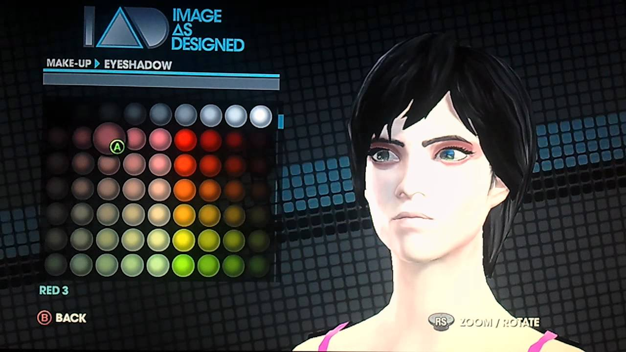 Saints Row 3 Anime Characters : Saints row the third character creation emo youtube