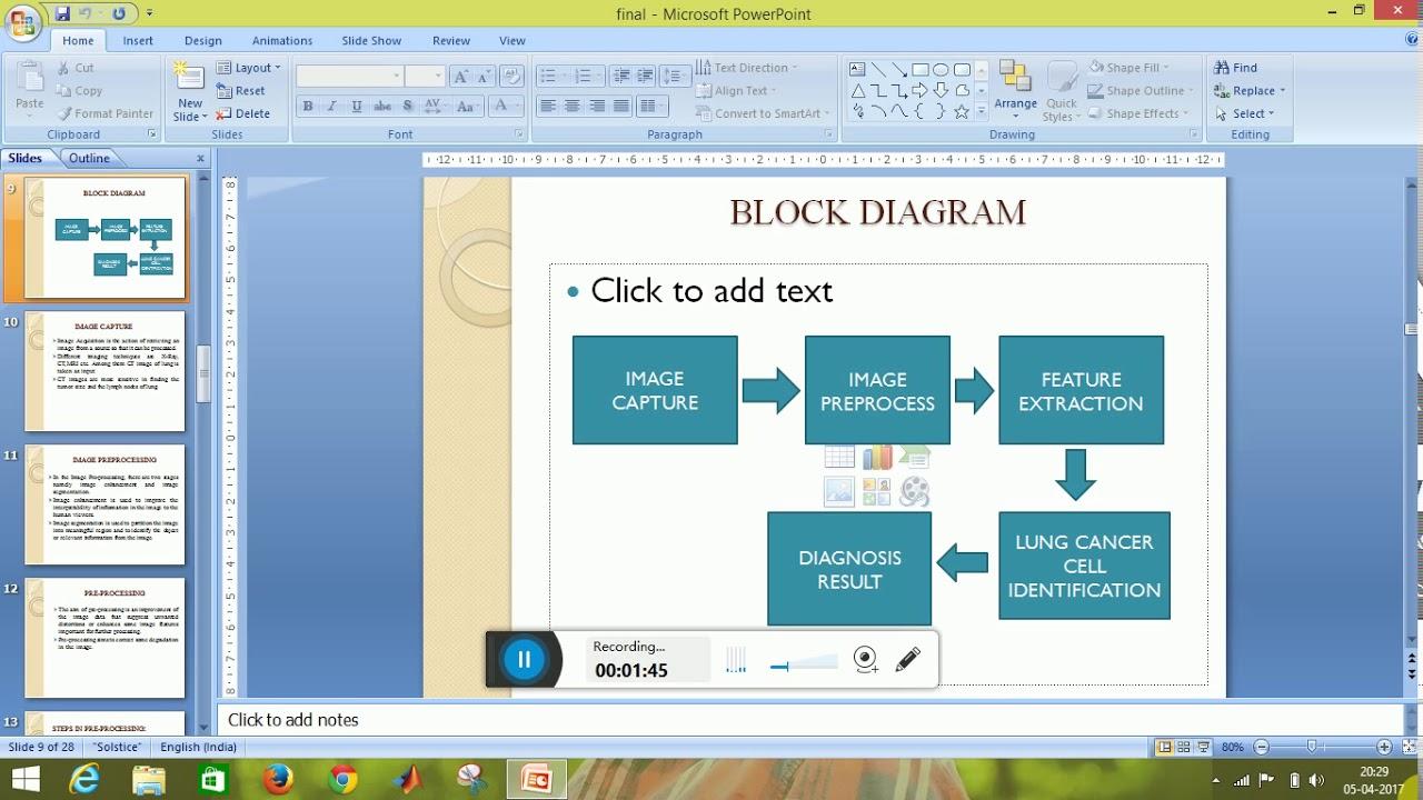 Ct Scan Block Diagram Explanation