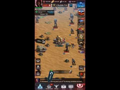 Last Empire War Z 617 SAS Vs 568 Lnk Kill Event Desert Fun Battle