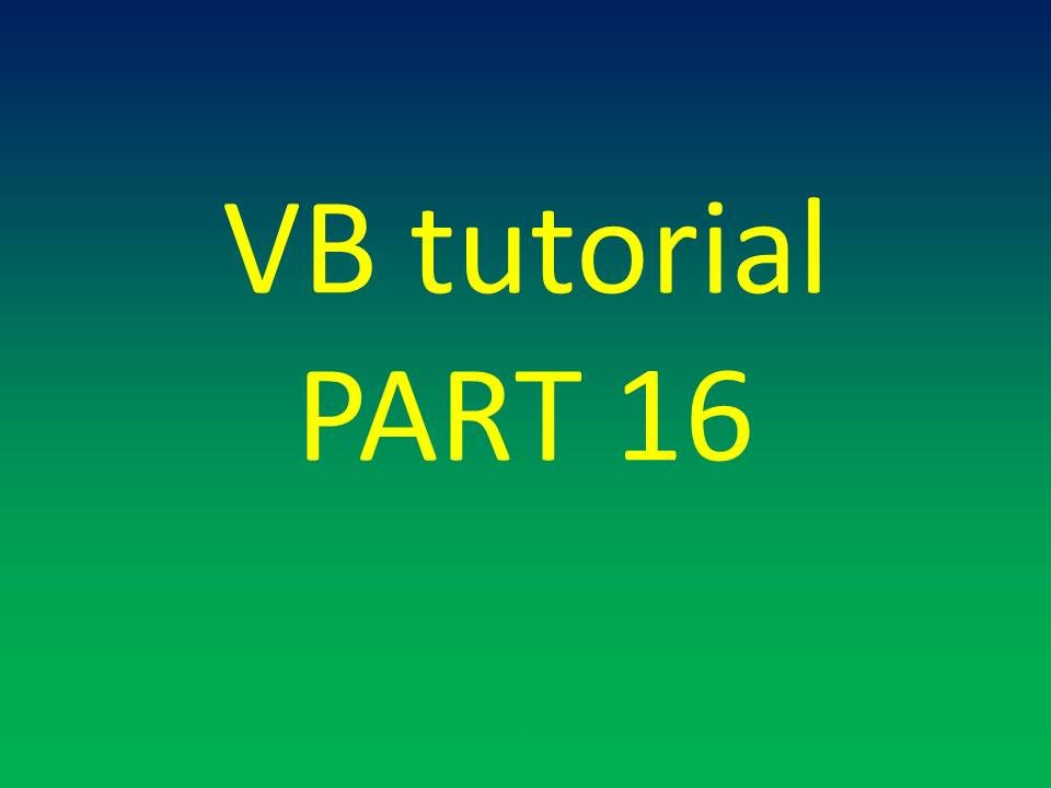 lesson 1c multidimensional arrays Multidimensional arrays in excel vba the arrays in our last lesson were all one  dimensional arrays it's one  dim myarray(1 to 5, 1 to 4, 1 to 6) as integer.