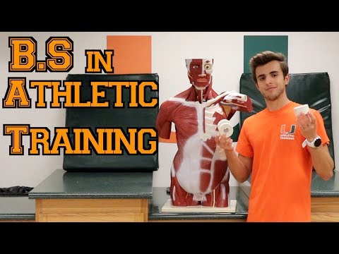 WHY I CHOSE ATHLETIC TRAINING AS MY COLLEGE MAJOR