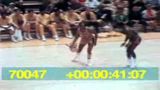 1969 Hawks vs. Lakers Highlights